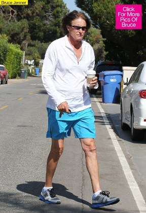 Bruce strolling