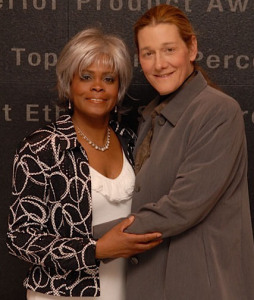 Martine Rothblatt & wife Bina
