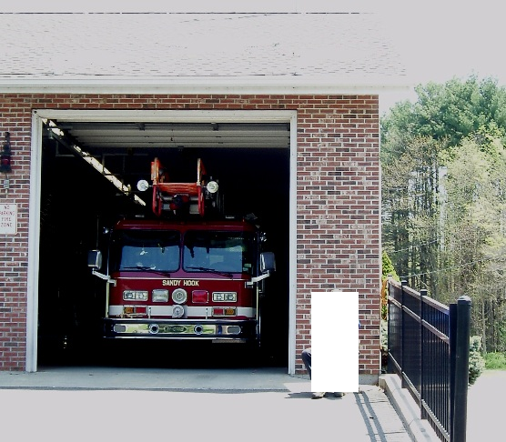 Firehouse front view