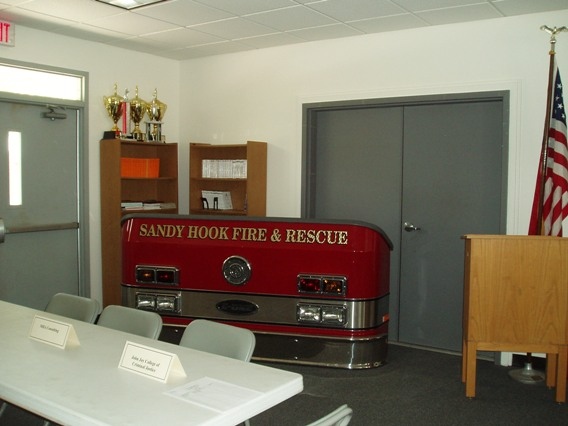 Firehouse meeting room