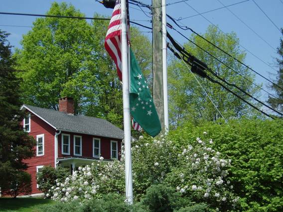 Firehouse flags