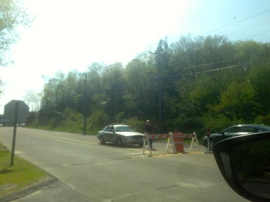 Police at Sandy Hook school