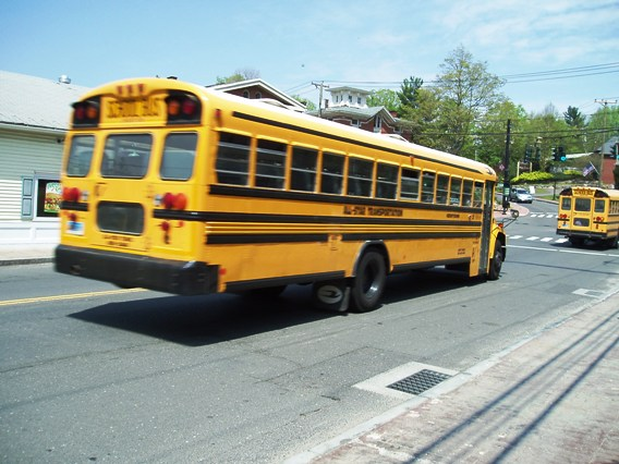 Newtown school buses