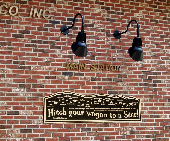 Firehouse plaque
