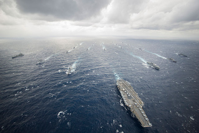 US Navy war games