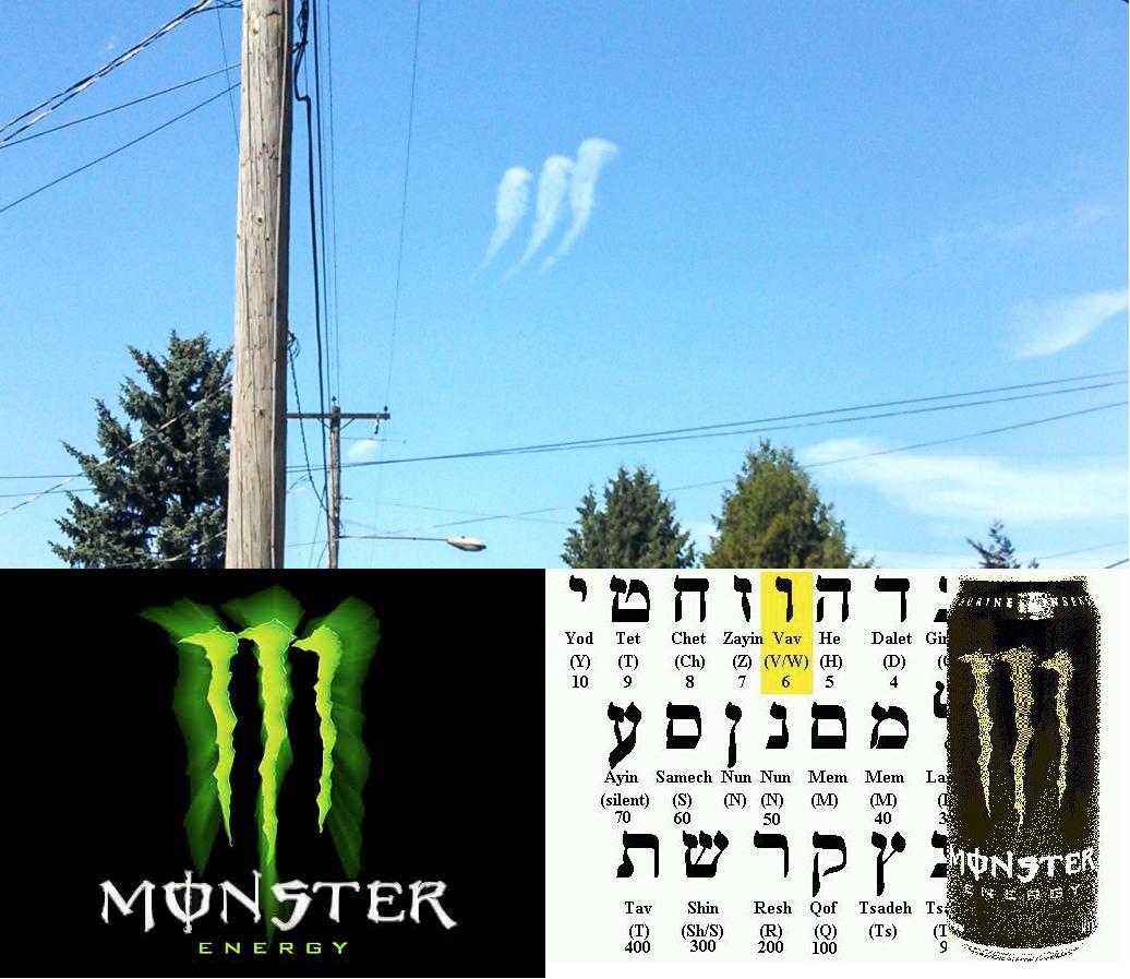 Drinking Satanic Energy