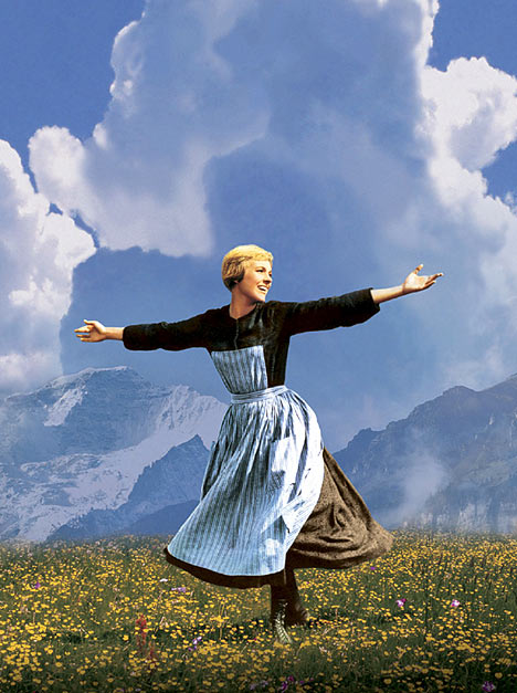 Julie Andrews in The Sound of Music